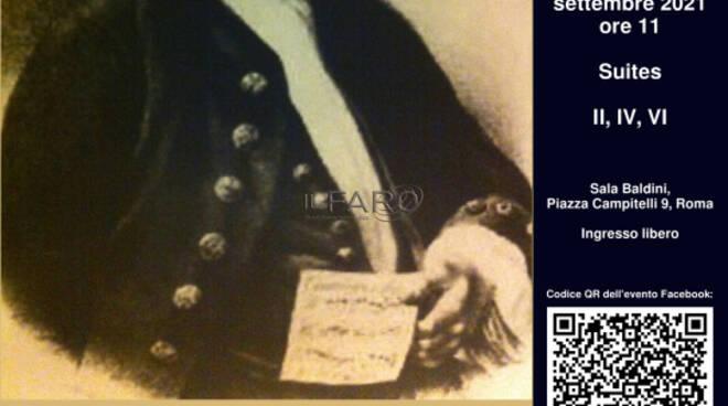 Le sei Suites per violoncello solo di J. S. Bach. Esecuzione integrale e introduzione alle strutture compositive