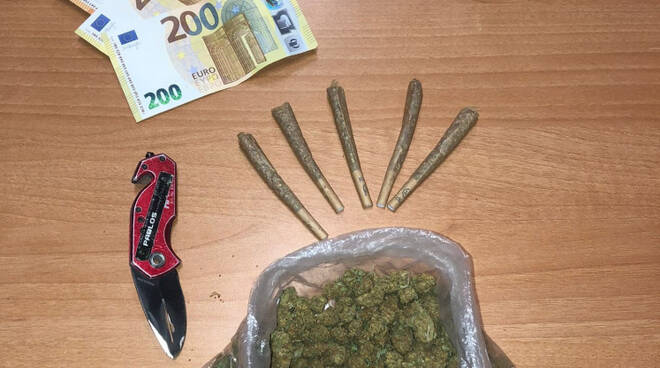 droga polizia roma