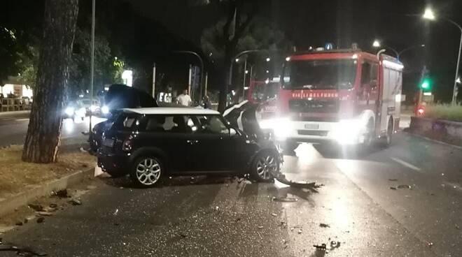 incidente via cristoforo colombo eur