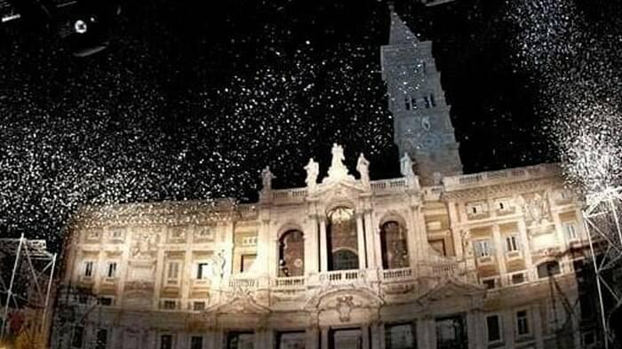 neve santa maria maggiore