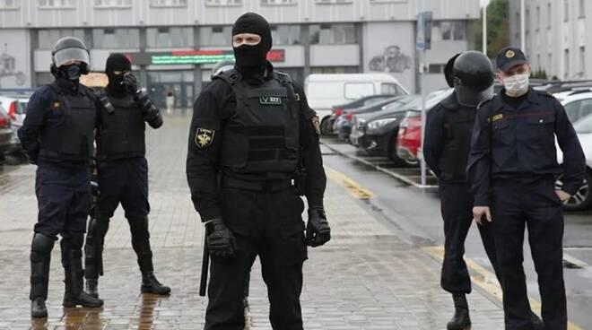 polizia bielorusia