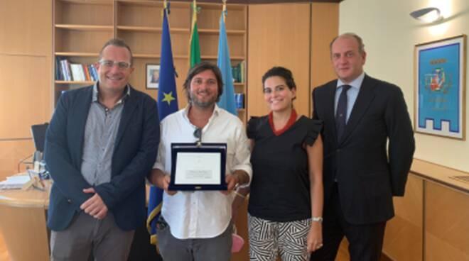 premiazione in Consiglio regionale