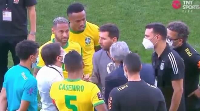 BRASILE ARGENTINA SOSPESA COVID