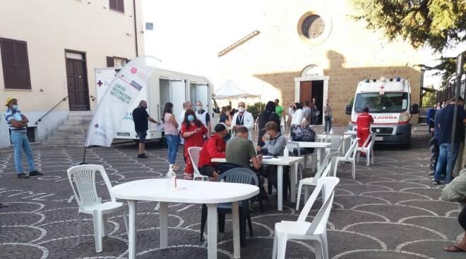 camper vaccino Ardea Asl
