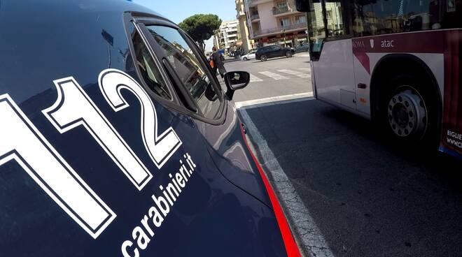 carabinieri autobus atac roma