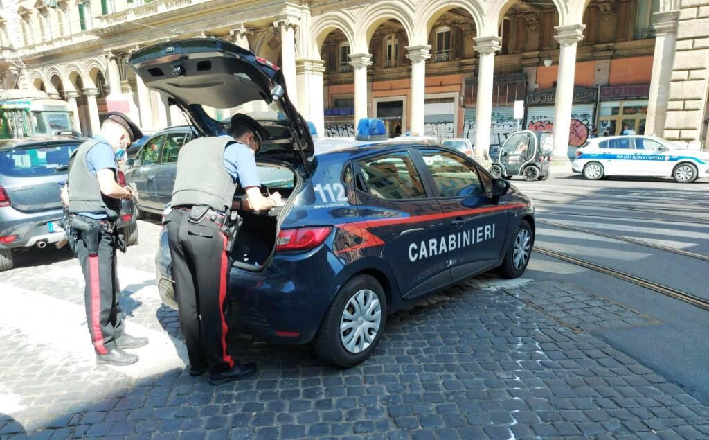 carabinieri esquilino