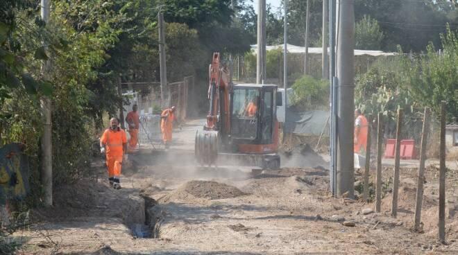 castagnetta lavori rete idrica