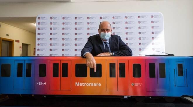 nicola zingaretti roma lido metromare