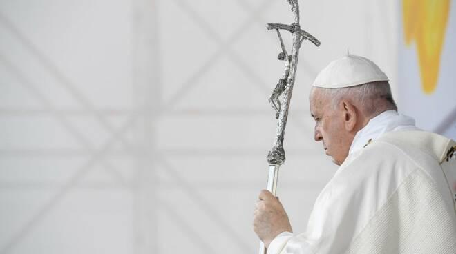 papa francesco messa