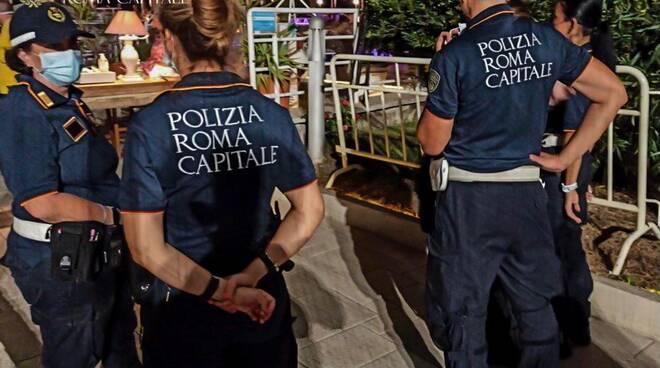 polizia locale movida