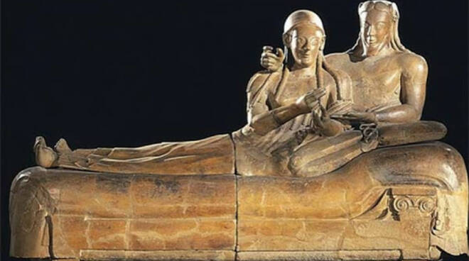 sarcofago sposi