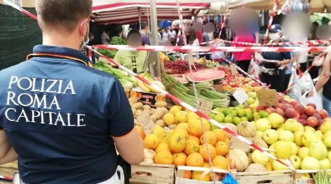sequestro frutta e verdura