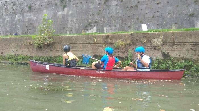canoa tevere