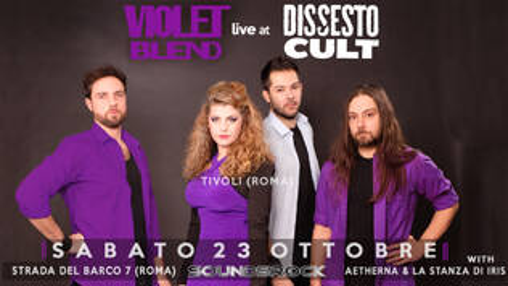 Violet Blend in concerto al Dissesto a Roma