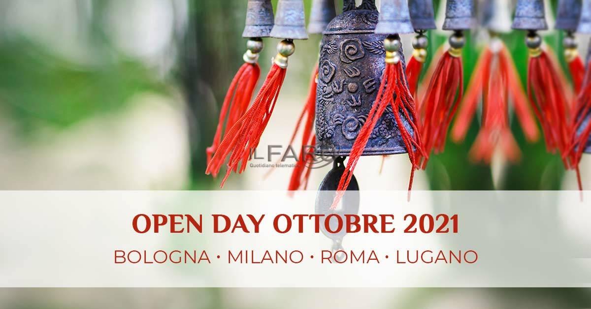 Open day ScuolaTao Roma - 24 ottobre 2021
