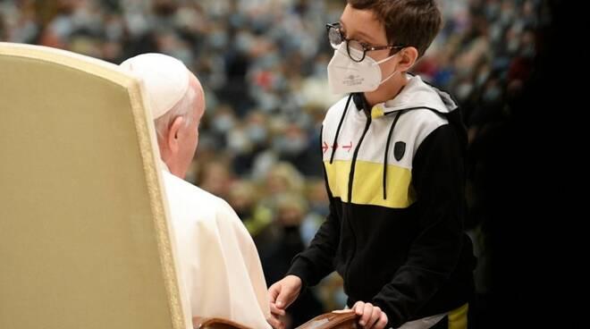 papa bambino udienza generale