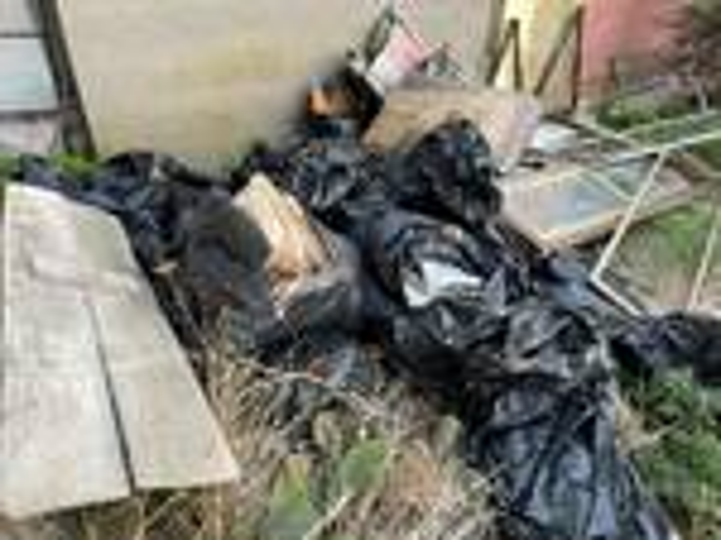 resti umani sacchi spazzatura cimitero ponza