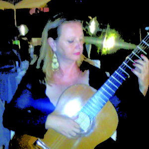 La chitarrista Antonella Col