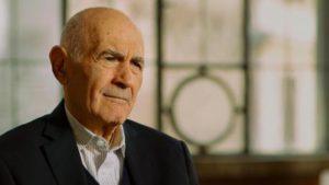 Sami Modiano, uno dei pochi sopravvissuti al campo di sterminio di Auschwitz Birkenau