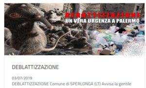 Sperlonga e le sviste: la deblattizzazione arriva fino a Palermo