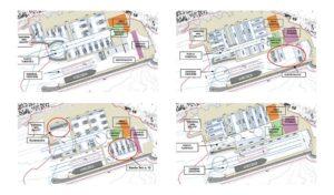 layout nuovo porto turistico fiumicino