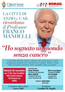 Anzio e l'Ail ricordano Franco Mandelli - IlFaroOnline.it