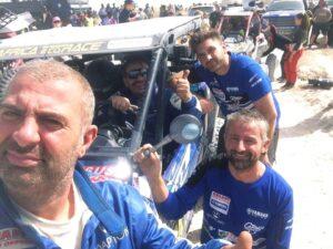 da-sx-Montico-Tassi-Brufola-Casotto-e-Giovannetti-300x225 Gianluca Tassi, pilota disabile, è il primo italiano al traguardo dell'Africa Eco Race Motori Gare Moto