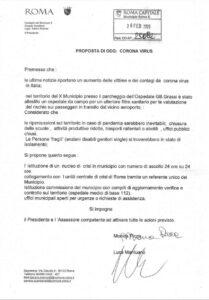proposta lega coronavirus