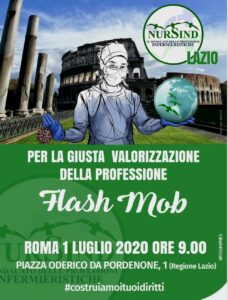 flash mob nursind
