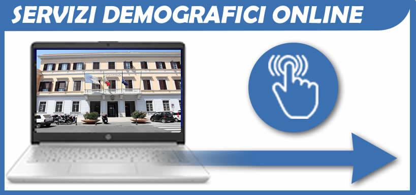 servizio demografico on line comune di Anzio