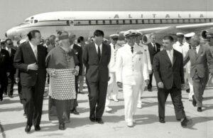 Inaugurazione aeroporto Fiumicino