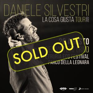 Daniele Silvestri concerto sold out