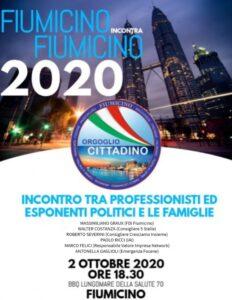Fiumicino incontra Fiumicino 2020 locandina