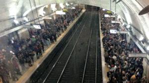 La metropolitana non è un mezzo di trasporto sicuro