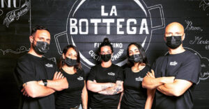Lo staff de La Bottega Fiumicino