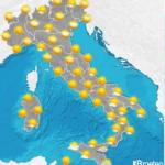 Meteo martedì: ottobrata con l'anticiclone subtropicale. Ecco le conseguenze